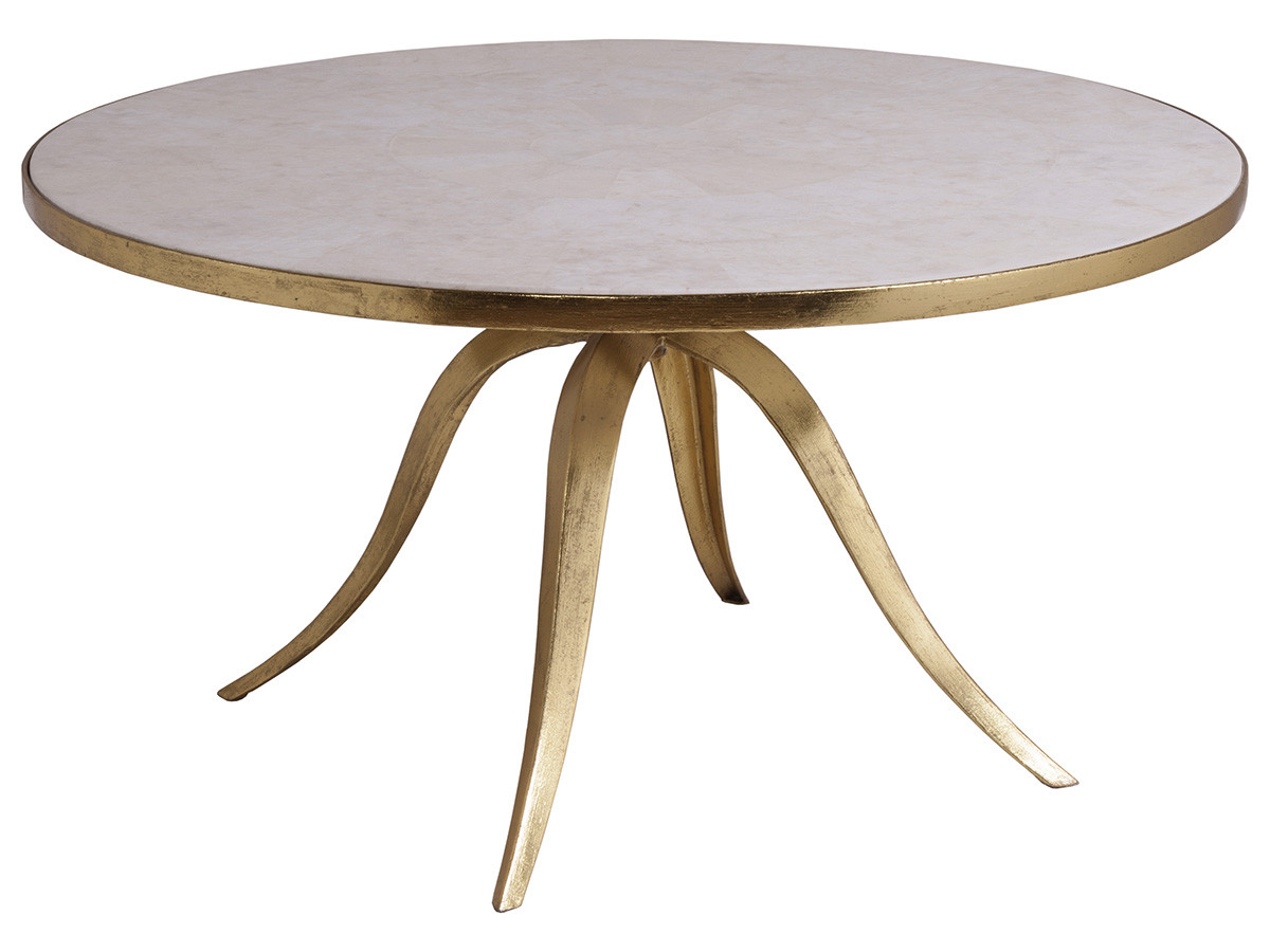 Crystal Stone Round Tail Table