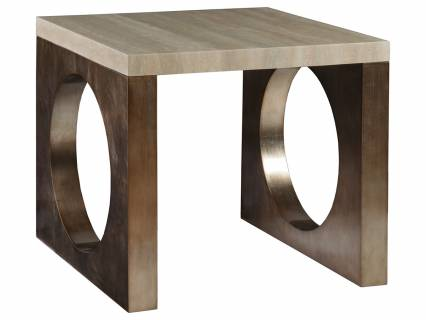 Impresario Square End Table