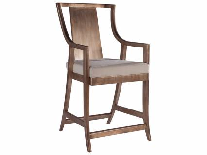 Sirocco Slat Back Counter Stool