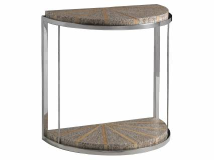 Montez Demilune Spot Table