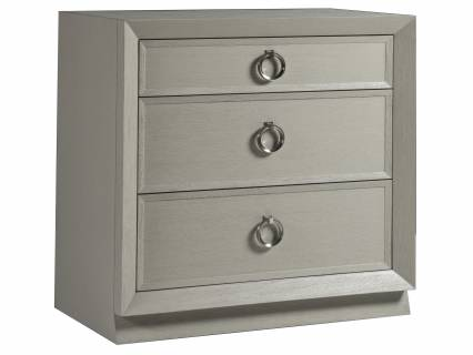 Zeitgeist White Drawer Hall Chest