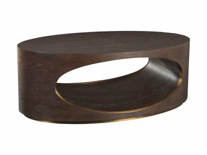 Verbatim Oval Cocktail Table
