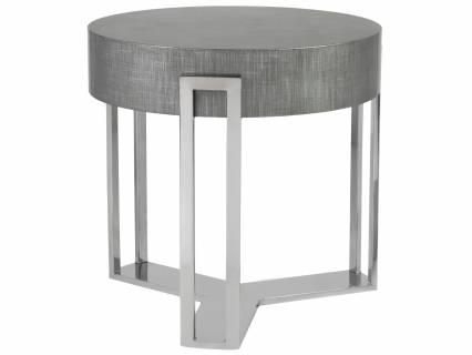 Iridium Round End Table