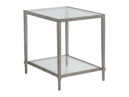 Claret Rectangular End Table